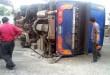 1 mort, 26 blessés dans l'accident d'un bus de tourisme