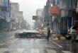 Le typhon Nepartak a ravagé Taitung avec des vents les plus forts depuis 60 ans
